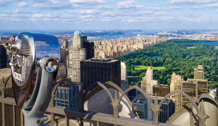 Top of the Rock at Rockefeller Center