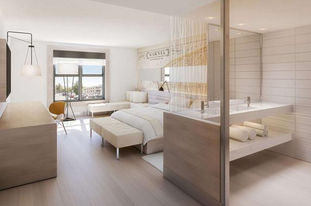 Insignia Hotel Room