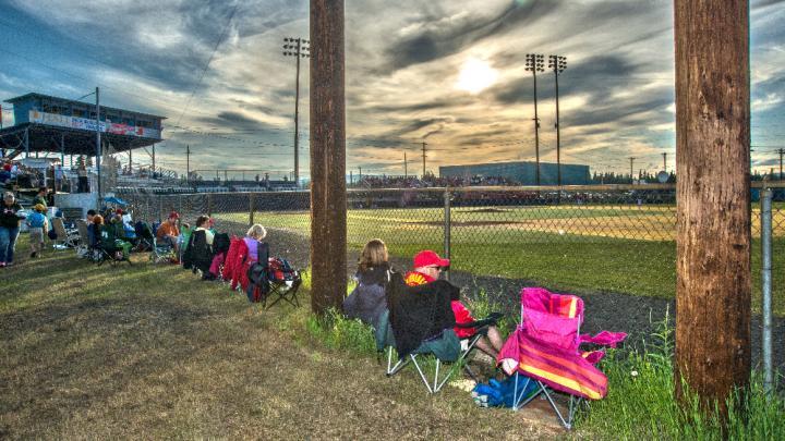 Midnight Sun Baseball Game / Sherman Hogue
