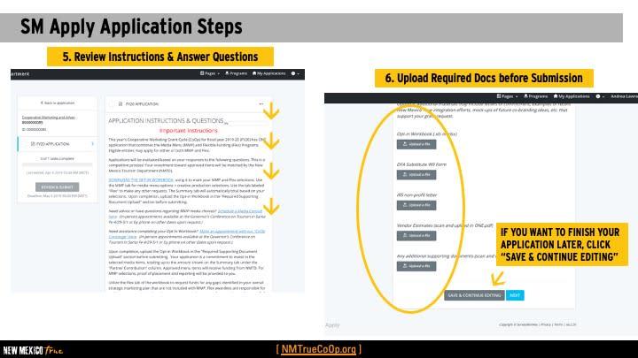 CoOp appl instruction 3