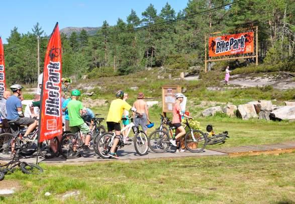 TrollAktiv sykkelpark på Evje