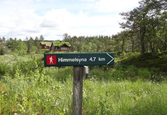 Himmelsyna - tur-retur 11 km