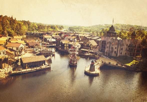 Abra Havn Pirate village