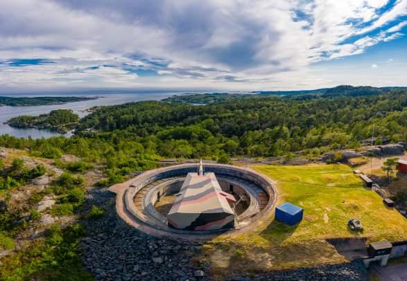 Kristiansand Kanonmuseum - Kanonenmuseum