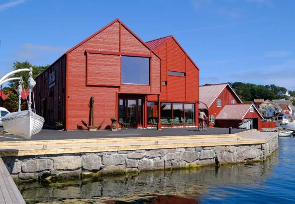 Lyngørfjorden Kystkultursenter - Raet national park information center