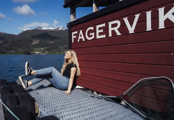 Fishing at Fagervik Camping