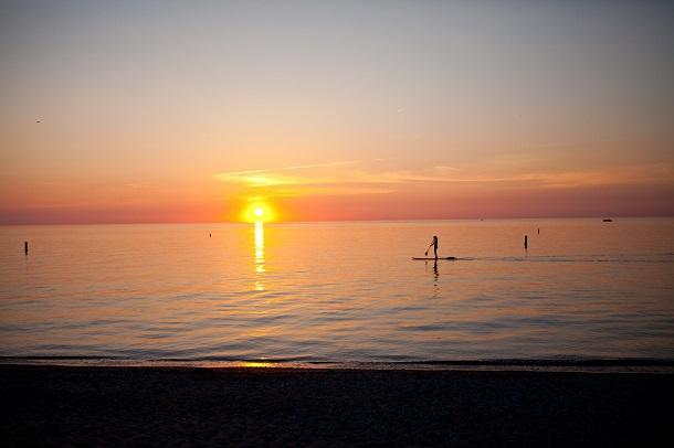 grand bend sunset