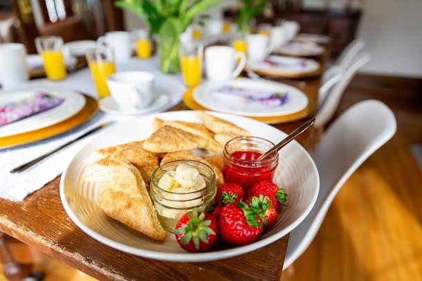 Horizen breakfast 2
