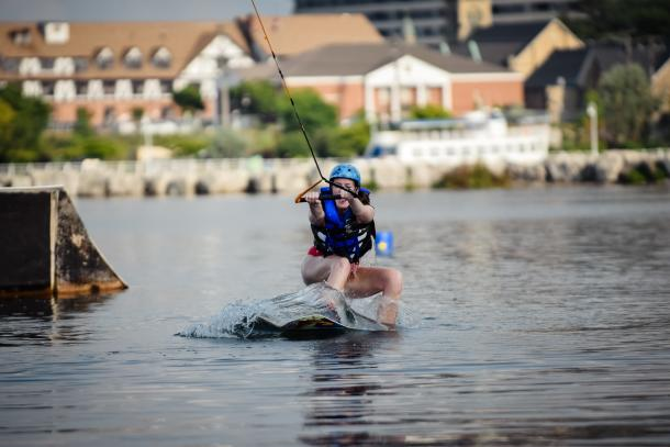 wakeboarding @ boarder pass