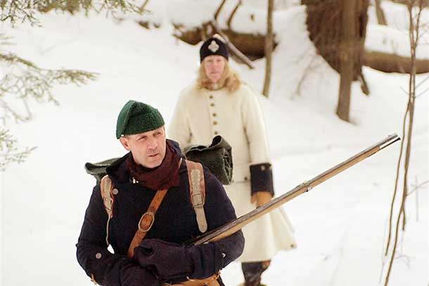Winter Encampment at Fort Necessity