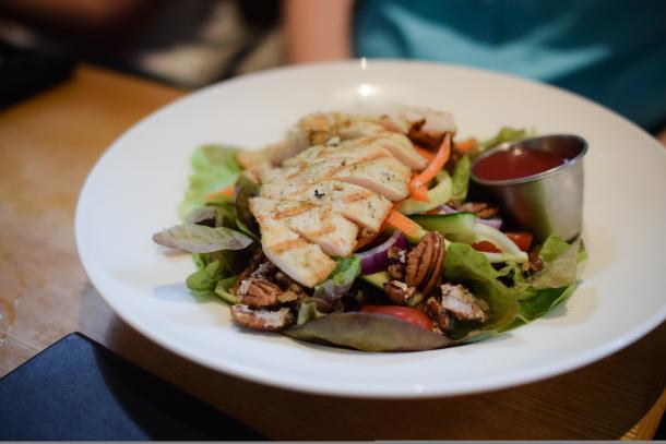Salad at Clock Tower Inn Restaurant