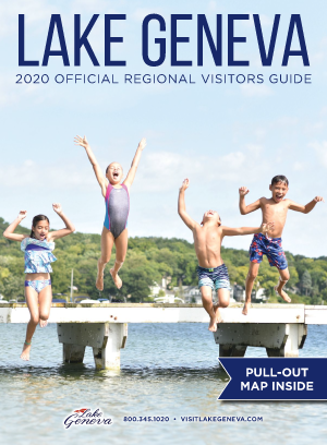2020 Lake Geneva Visitor Guide Cover