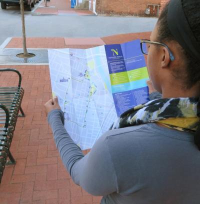 Newark Walks - Map