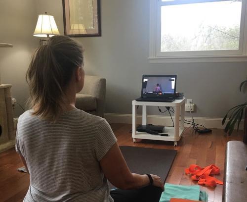 Balancing Owl Yoga Online