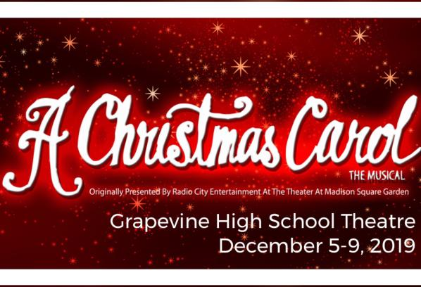 Picture A Christmas.A Christmas Carol The Musical Presented By Grapevine High