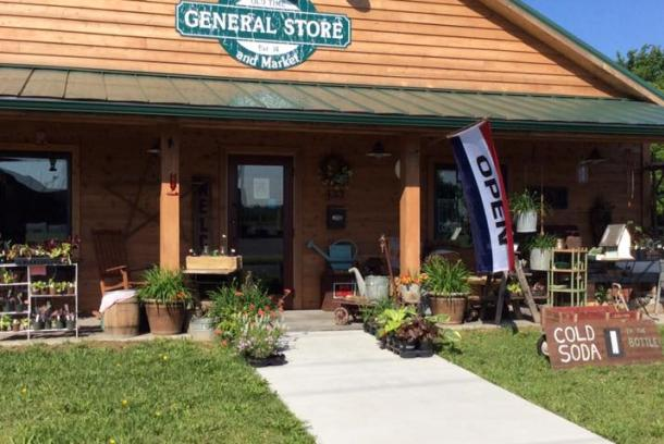 Troutt Old Time General Store Market