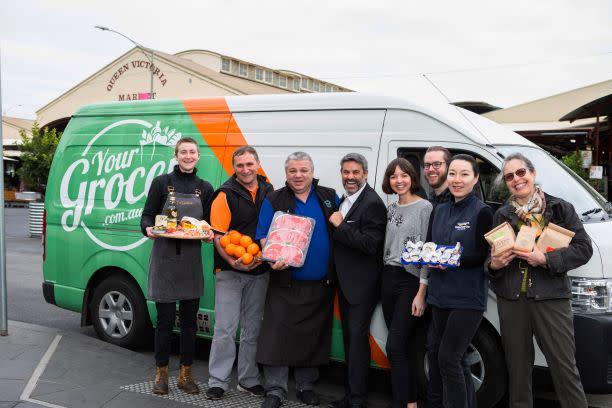 Queen Vic Market Produce Online