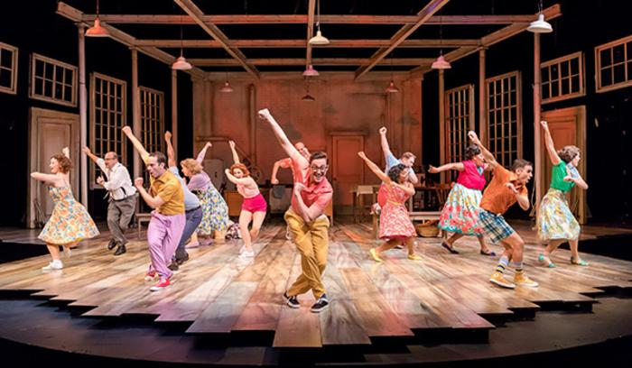 The Pajama Game Theatre at the Center - dance number