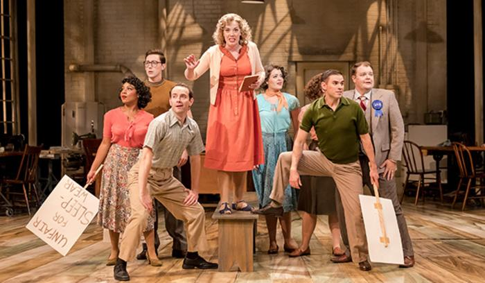 The Pajama Game Theatre at the Center - picket
