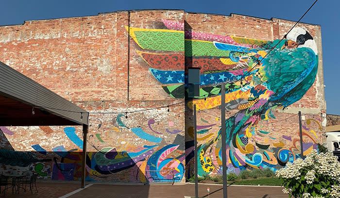 Rensselaer Public Art Walk - eMbers