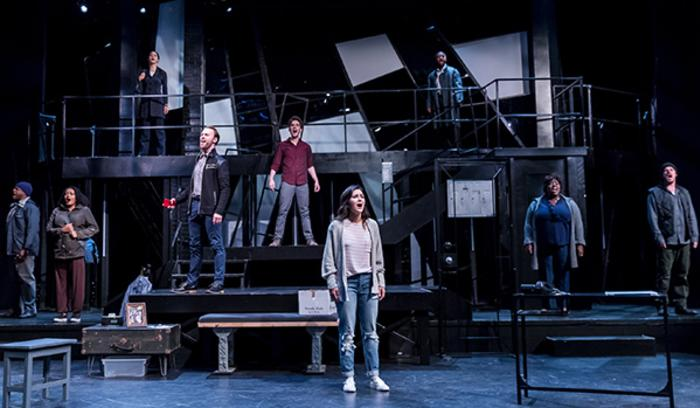 Ghost the Musical cast - Theatre at the Center