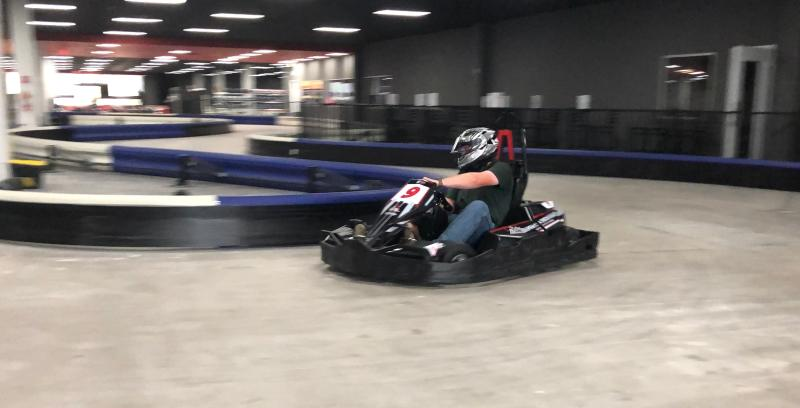 Racing Cart at High Caliber Karting
