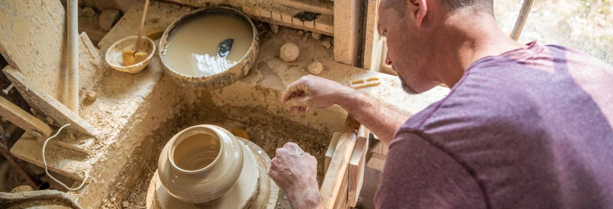 Shearwater Pottery in Ocean Springs