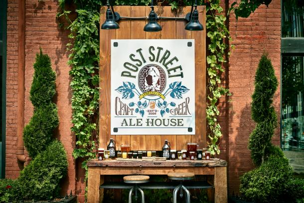 Home of the Post Street Ale House