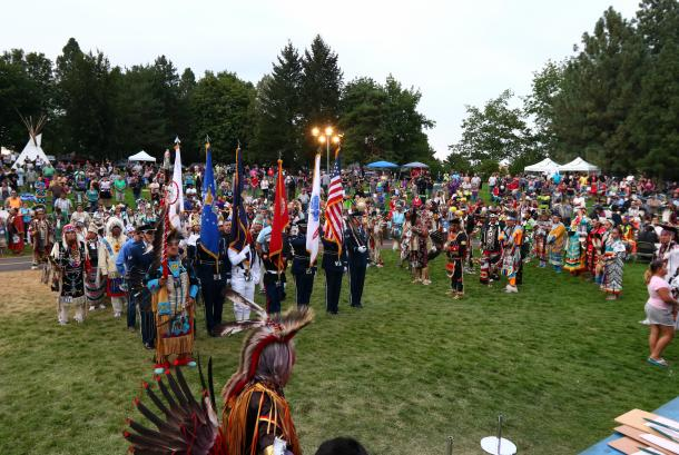 Gathering at the Falls Powwow 1