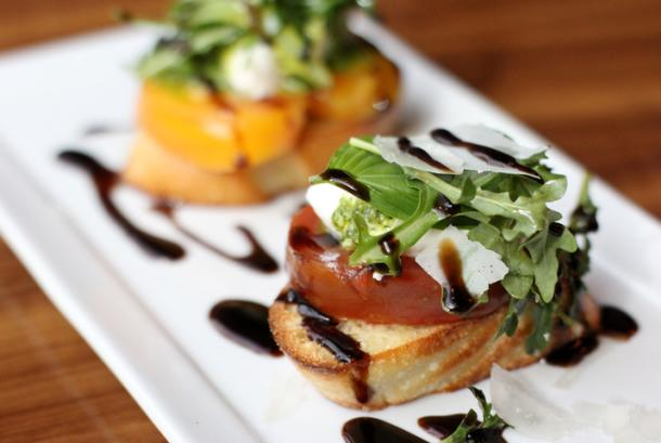 Grand Burrata Cheese Crostini
