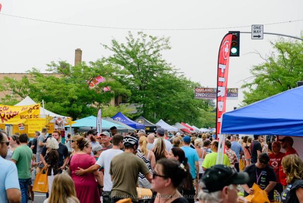 Garland Street Fair is the 2nd Saturday in August