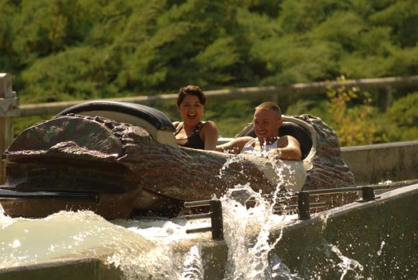 Silverwood Log Flume