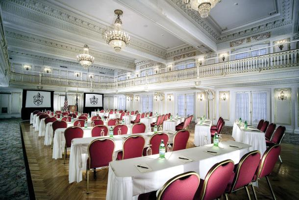 Marie Antionette Ballroom meeting