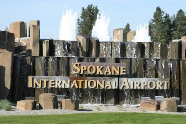 Spokane Airports Sign
