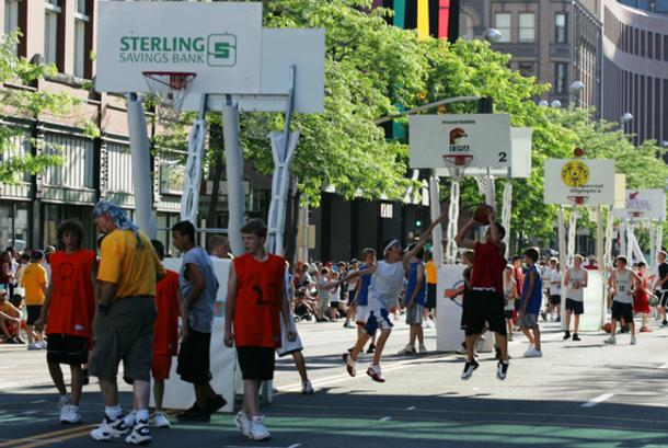 Hoopfest Down the street again