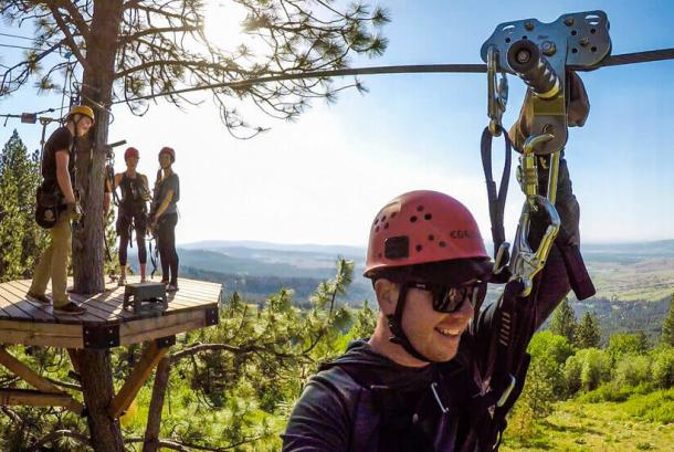 Zipline Tour in Spokane