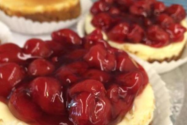 Cole's Cherry Cheesecake