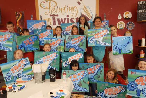 Kids Art Camps-Spring Break & Summer
