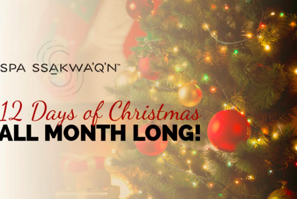 12 Days of Christmas Spa Special