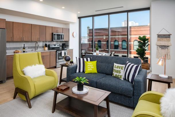 Stay Alfred M Apts Spokane - Room with a View