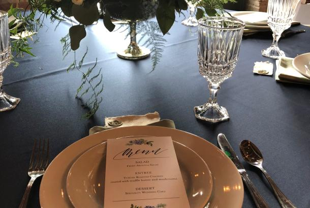 The McGinnity Room_placesetting