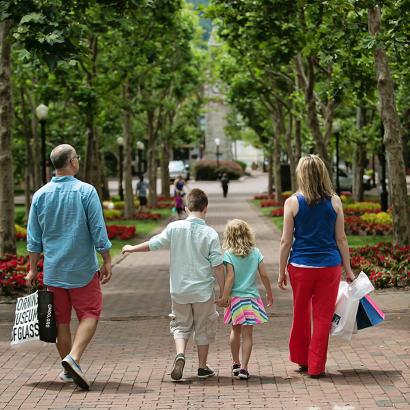 Family in Corning