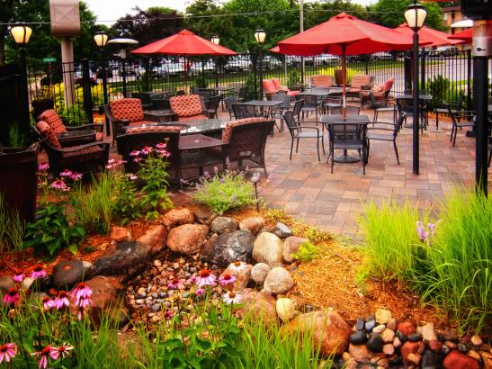 Twigs Patio Garden and Tables