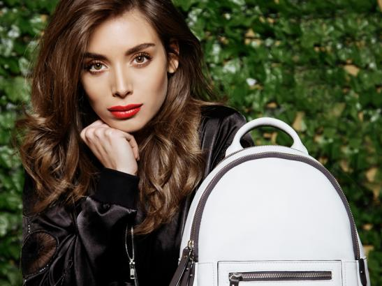 Italian Leather Backpack Bag