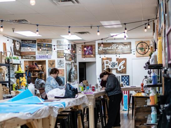 Board & Brush Creative Studio | credit AB-PHOTOGRAPHY.US