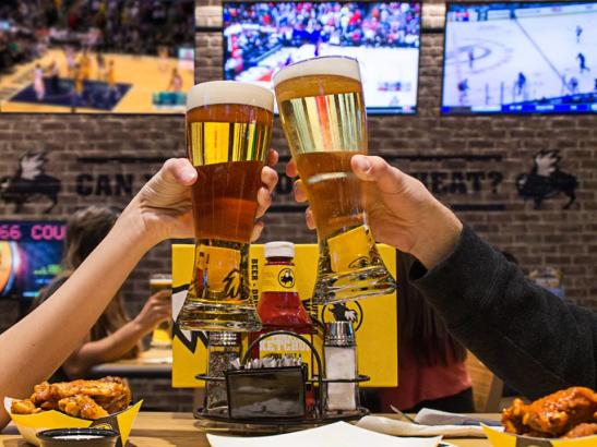 Buffalo Wild Wings | credit Rochester Magazine