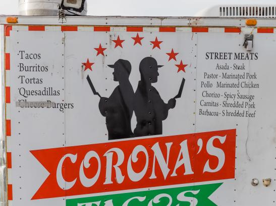 Corona's Tacos | credit AB-PHOTOGRAPHY.US