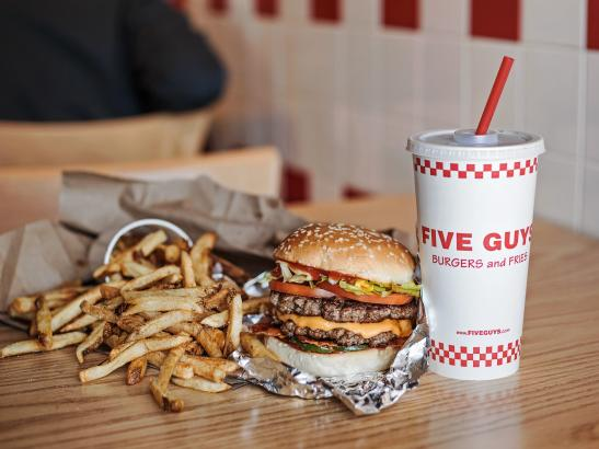 Five Guys Burgers and Fries credit Rochester Magazine