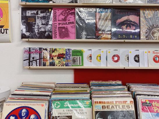 Hidden World Vinyl Records | credit AB-PHOTOGRAPHY.US