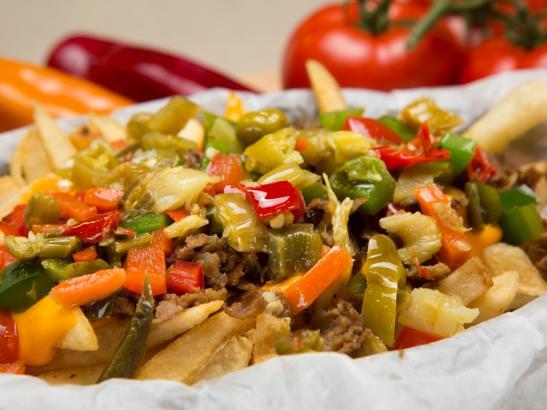 Spicy Cheesesteak Fry